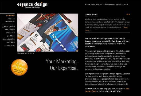 Bridwell blog: graphic design websites