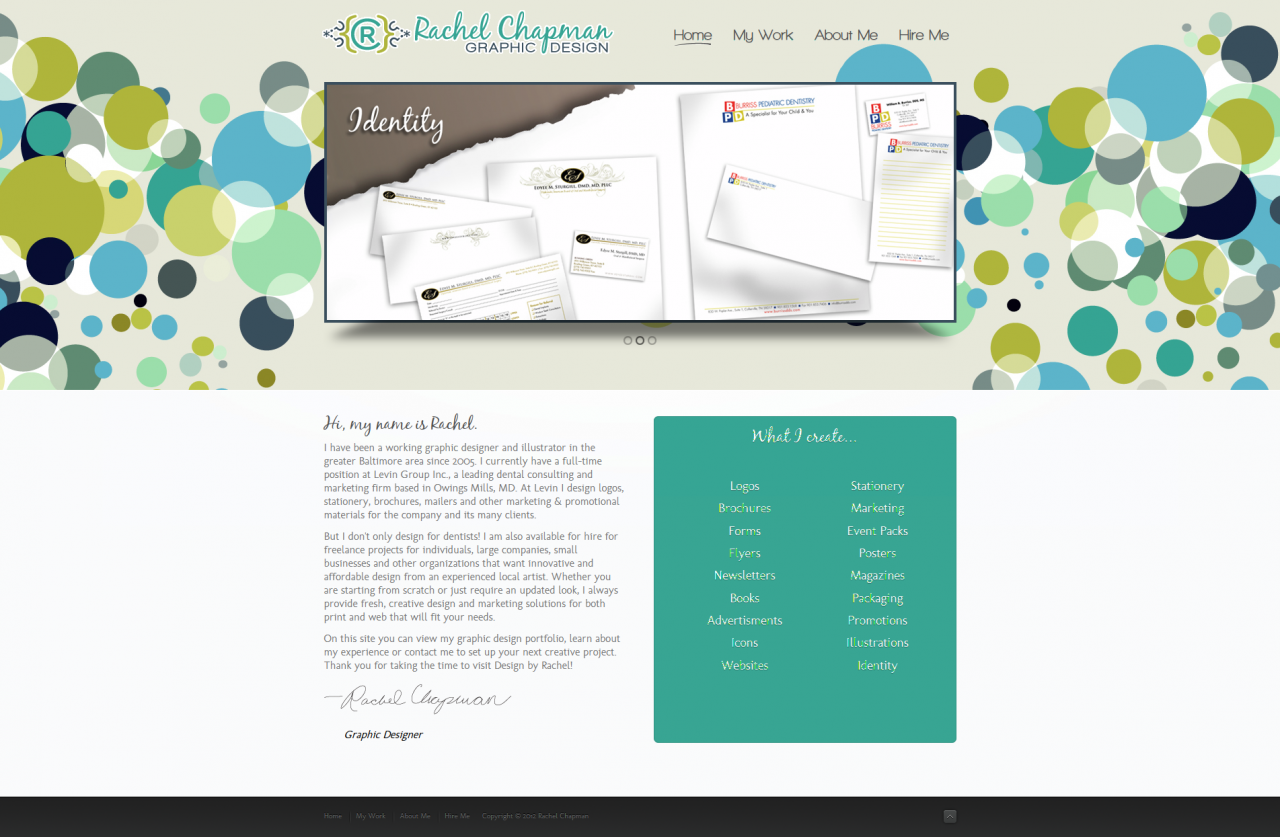 Rachel Chapman | Graphic Design - Joomla! Community Showcase