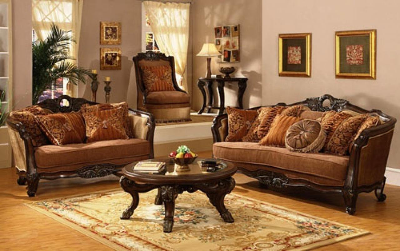 Traditional living room design joy studio design gallery for Room design with furniture