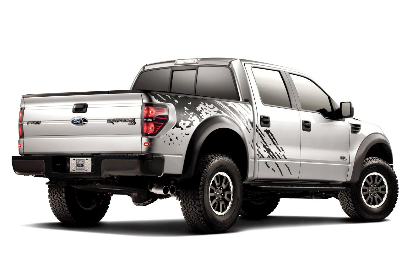 Ford Begins Offering Graphics on the 2011 F-150 SVT Raptor (The Torque ...