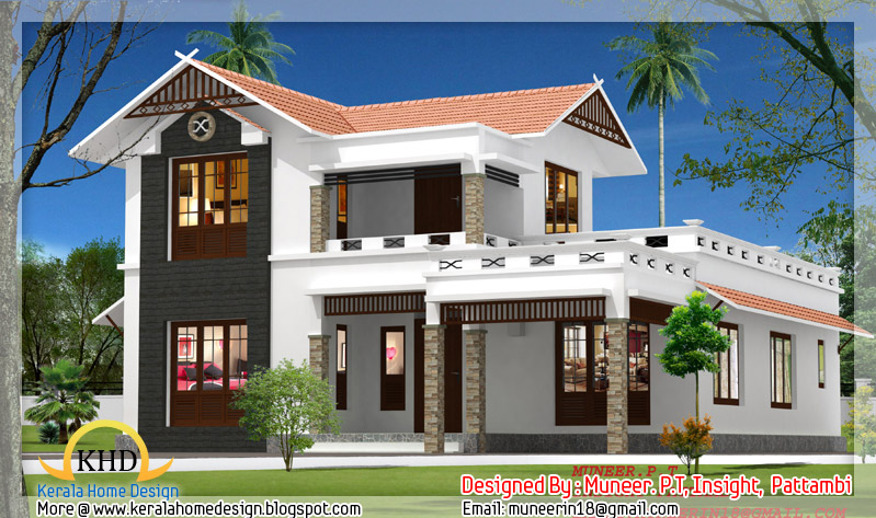 beautiful home elevation designs in 3d indian home decor - Home Elevation Design