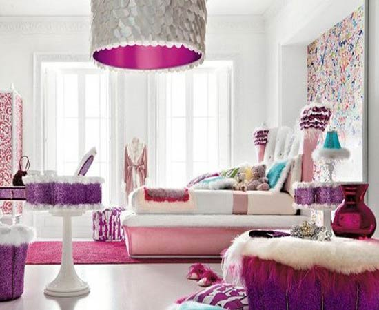 ... Design Your Own Room With Feminine Touch For Inspiration To Your House
