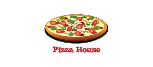 30 Appetizing Designs of Pizza Logo | Naldz Graphics