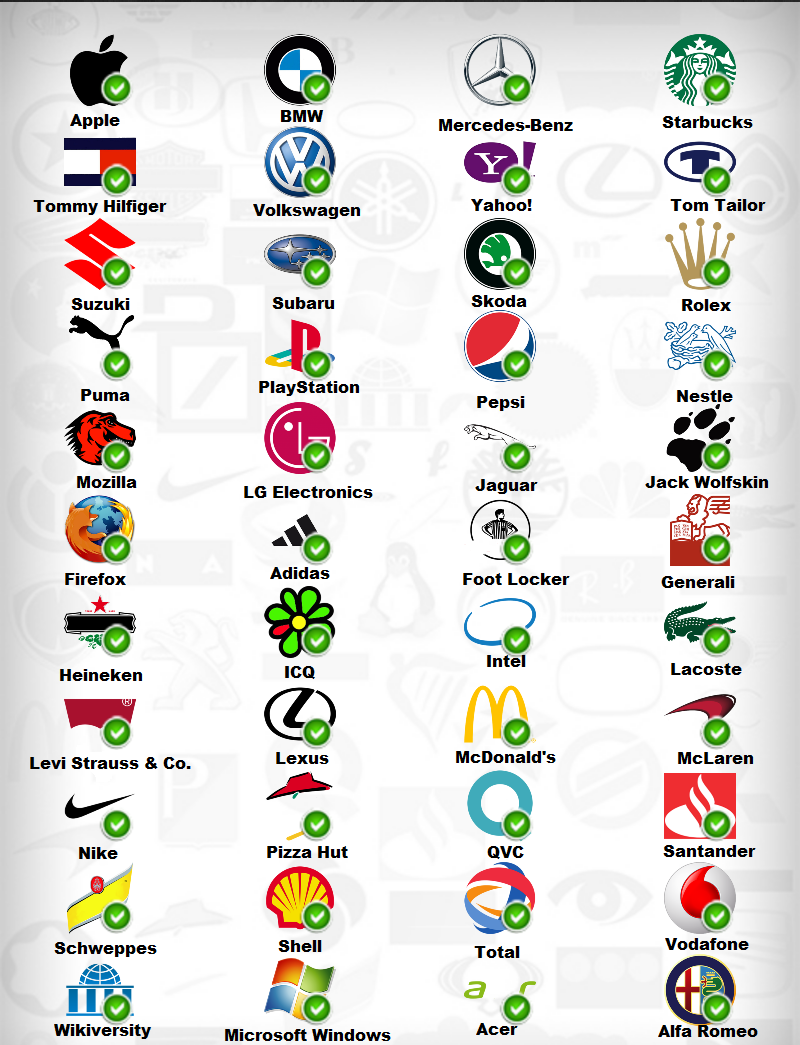 Logo Quiz logos quiz answers