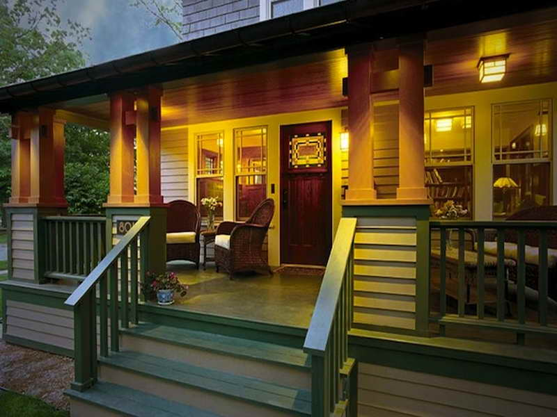 awesome bungalow makeover mobile home front porch designs - Mobile Home Designs