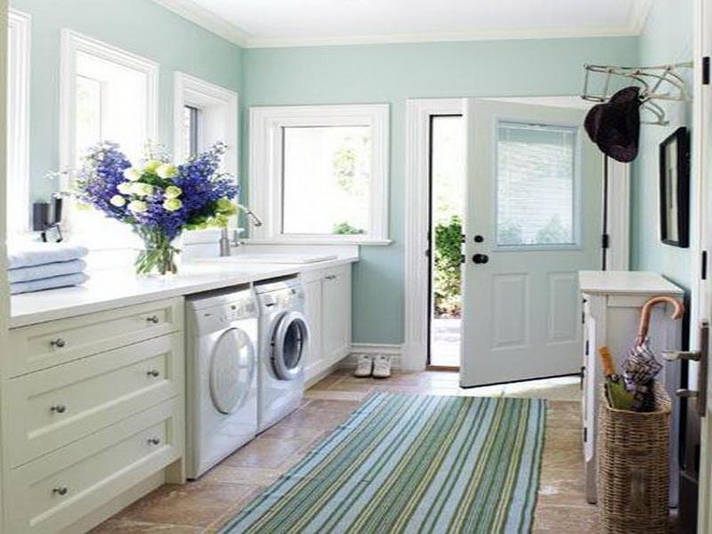 Laundry Room Layout: Bathroom Laundry Room Layout Design Ideas ...