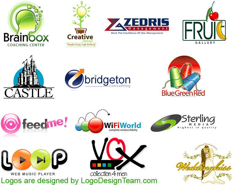Custom Logo Design Portfolio Logo Design samples custom