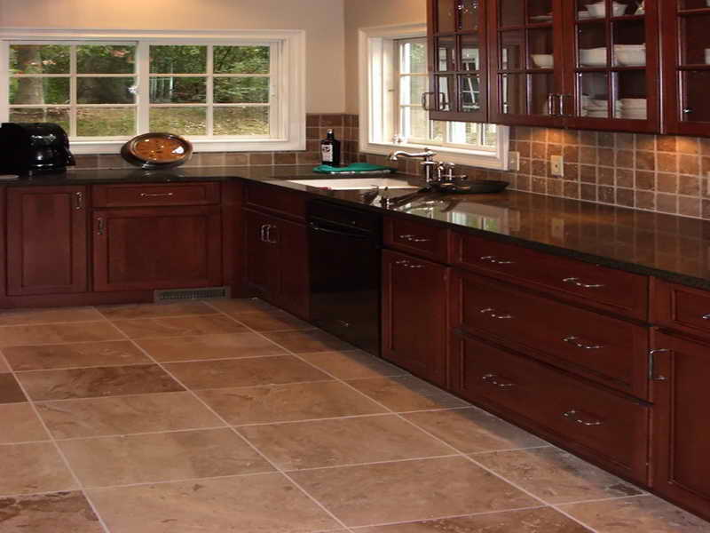 Kitchen Floor Design Ideas | Joy Studio Design Gallery Photo