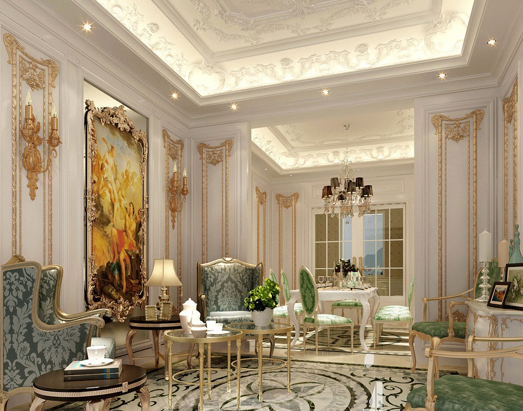 French interior design ideas joy studio design gallery photo for Classic luxury homes