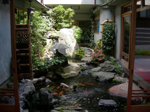 Japanese Courtyard, www.home-designing.com