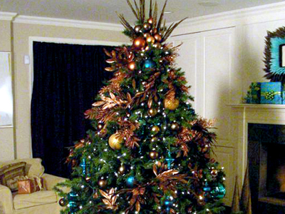 Decorating ideas for a christmas tree | Room Decorating Ideas