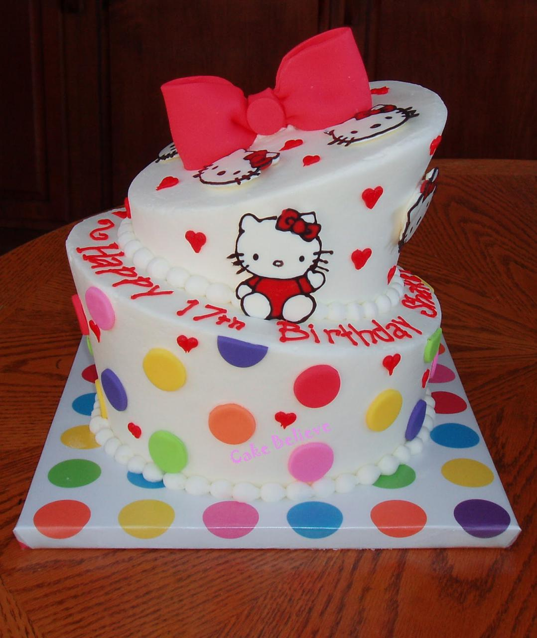 30 Cute Hello Kitty Cake Ideas and Designs - EchoMon