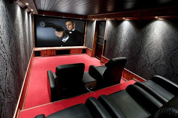 Artbymatt 2008: Movie room ideas