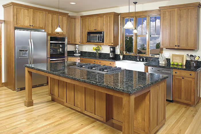 Locally-crafted, Colorado cabinets for kitchens, bathrooms, and more ...