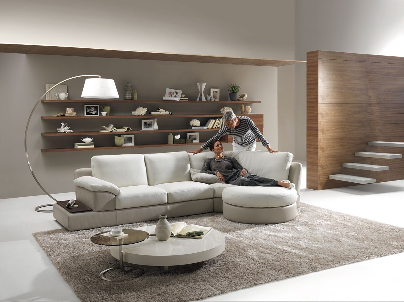 Home » Living Room Design Ideas by NATUZZI » Living Room with Odessa ...