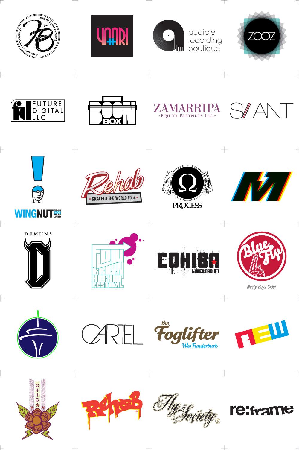 Logos & Logotypes by Epidemik Coalition