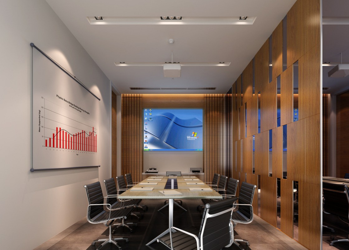 minimalist digital meeting room interior design interior design - Conference Room Design Ideas