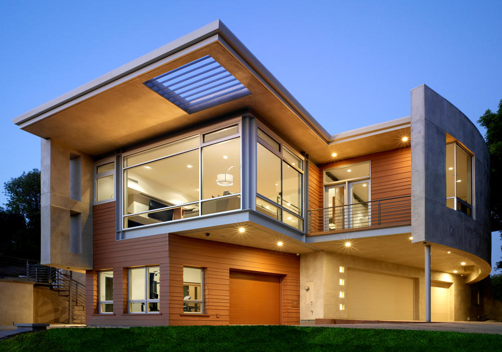 New home designs latest.: Modern homes exterior views.