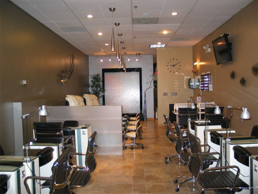 nail salon design ideas home interior design - Nail Salon Design Ideas Pictures