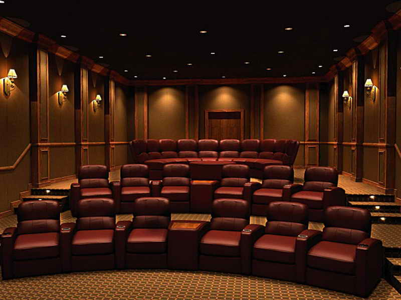 Home Theater Design: Nice Home Theater Design – Vissbiz