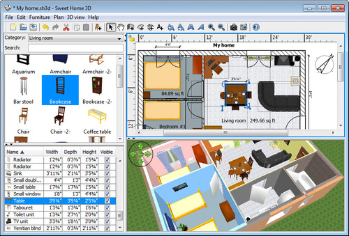 Room Design Freeware