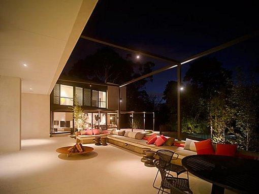 Terrace Lighting Design | MOTIQ Online - Home Decorating Ideas