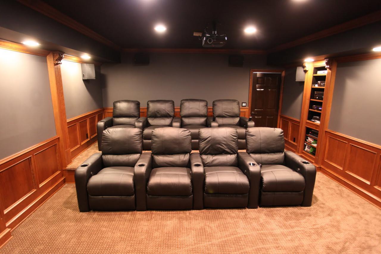 MHI Interiors: Theater Room - Novi, MI