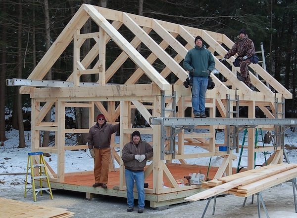 connecticut post beam posted in tiny house on apr 9 2014 by michael ...