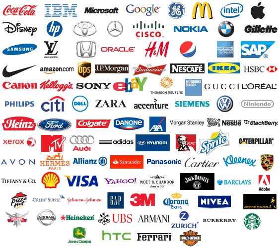 Top 100 brand logos | SiliconANGLE