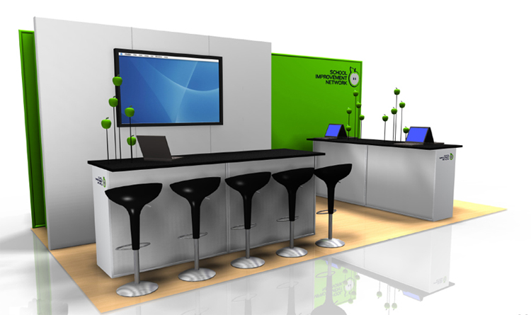 10×20 Trade Show Booths Rental #03 | Trade Show Booths Las Vegas