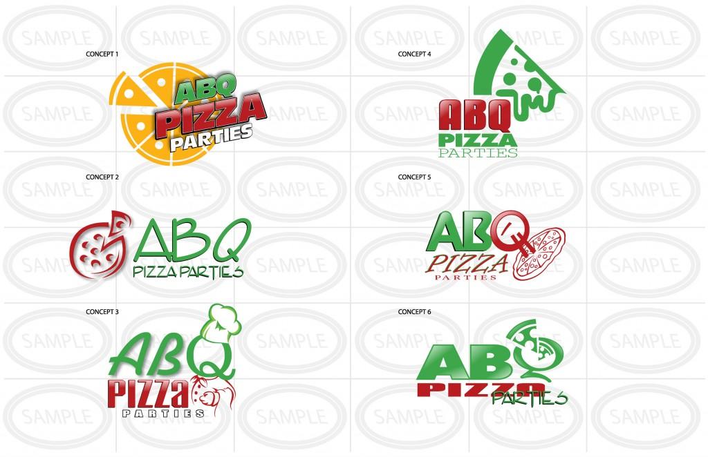 Logo Design - Web Logo Design Example - Pizza Business