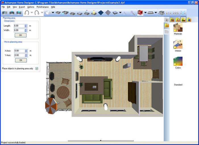La ley concerniente al uso de Ashampoo Home Designer Pro puede variar ...