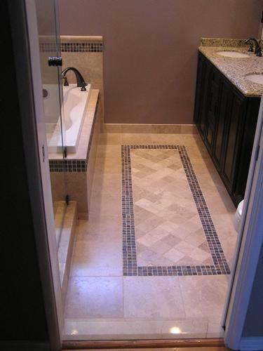 Bathroom Floor Tile Designs   Home Design Ideas