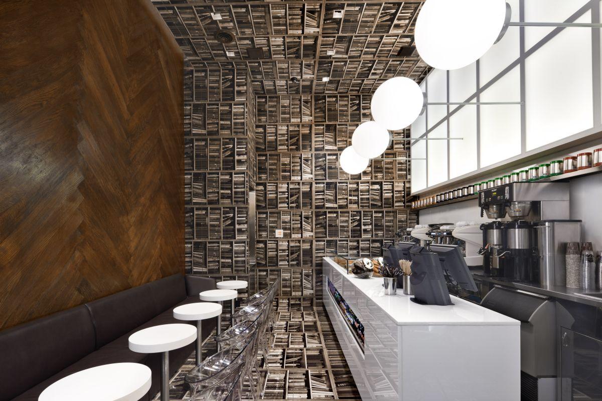 contemporary small cafe interior design ideas