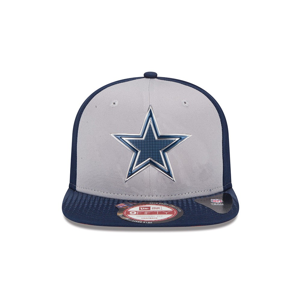 Home / Dallas Cowboys NFL On Draft 9Fifty Gray Adjustable Hat (Gray)