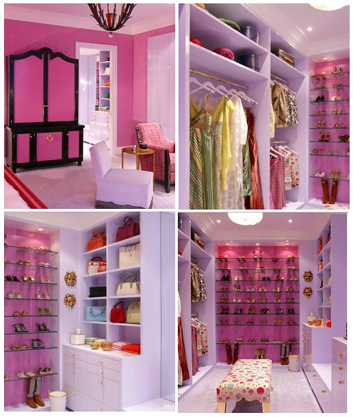 Organization or the lady's dream dressing room |