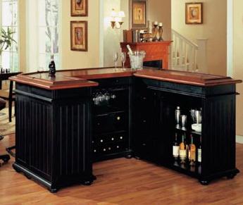 Custom Home Bar & Custom Bar Design - ManhattanCabinety.com - New ...