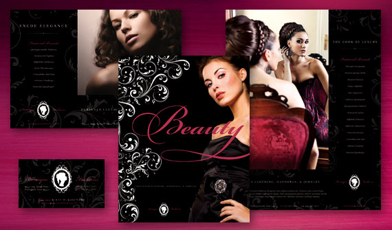 ... Fashion Clothing & Jewelry Boutique Marketing with Design Templates