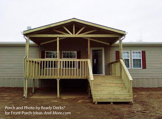 Porch Designs for Mobile Homes | Mobile Home Porches | Porch Ideas for ...