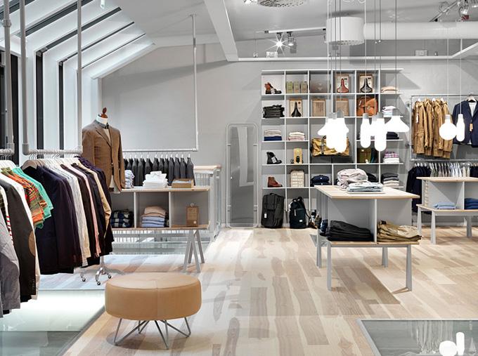 BEYUNIQUE: [Interior Design] Haberdash: Men's Clothing Boutique in ...