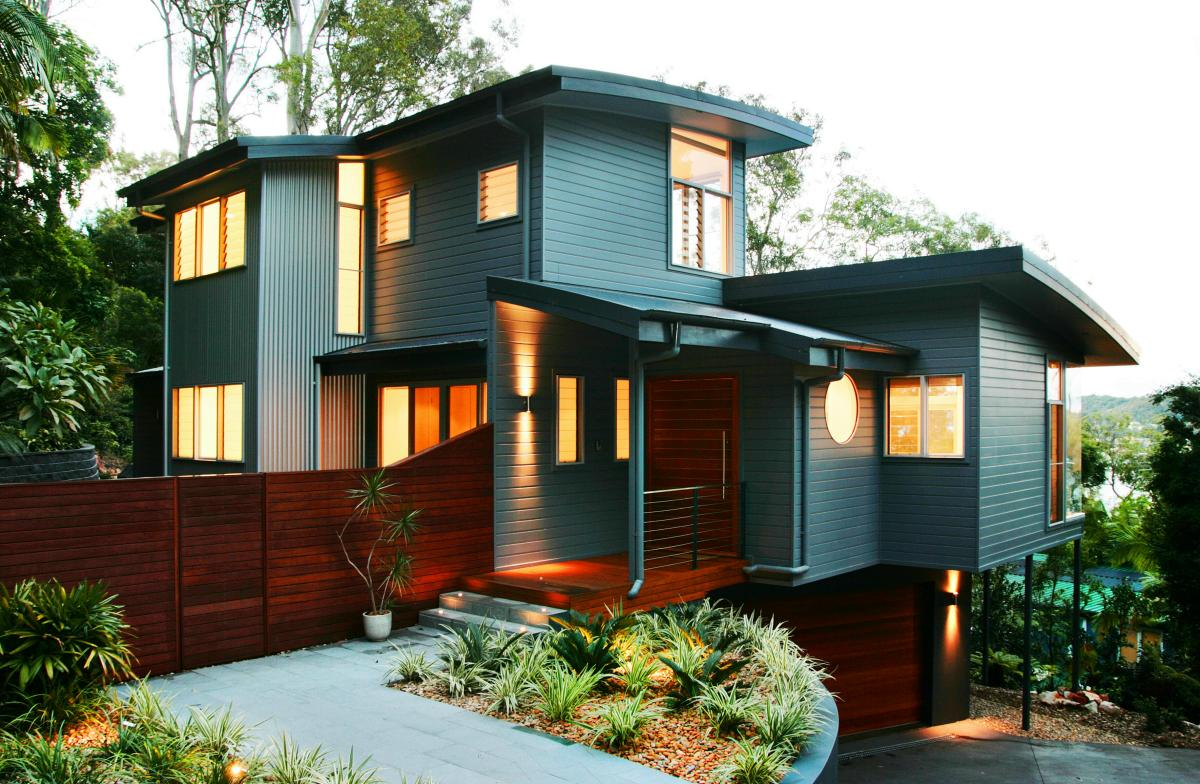 Home Exterior Design in Elegant Style home exterior design photos ...