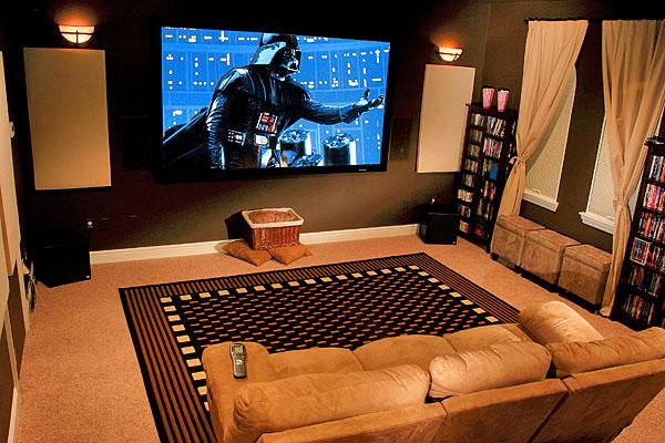 Home Theater: organizzare il soggiorno per un sistema Home Theater ...