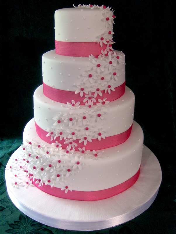 ... arrangements, various flavors and designs, and even colored cakes
