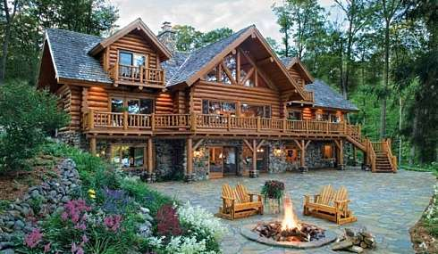 Standout Log Cabin Designs...Captivating Ambiance & Period Charm!