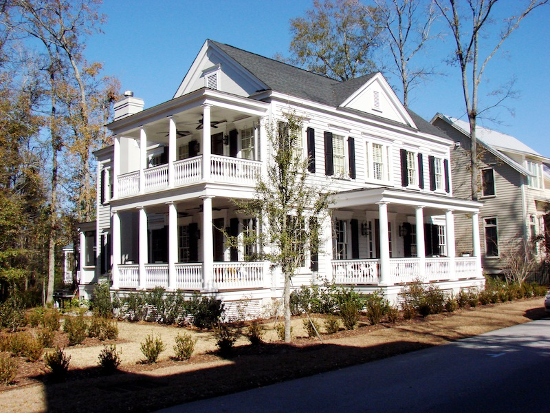 Design homes joy studio design gallery photo for Low country farmhouse plans