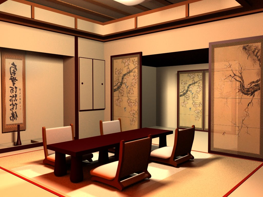Peaceful Design Japanese Style Dining Room Onarchitecturesite ...