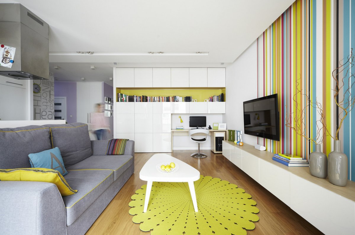 Home Design Bee | modern studio apartment interior decorating ideas