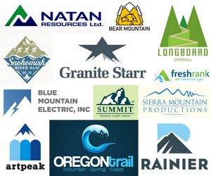 50+ Creative Mountain Logo Designs Showcase - Hative