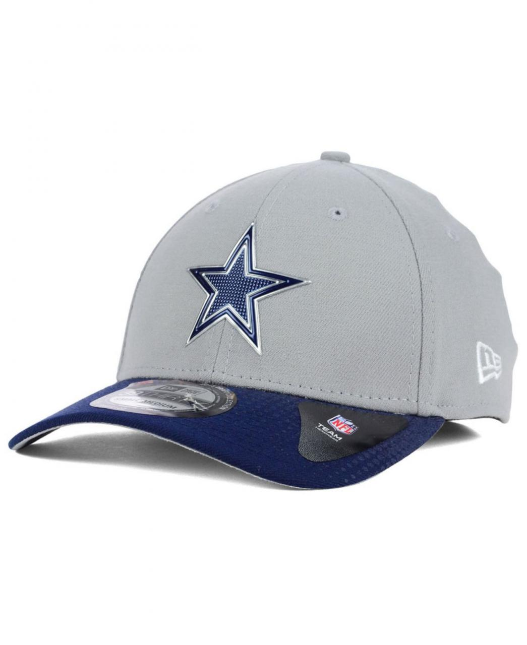 New Era Dallas Cowboys 2015 Draft Gray 39Thirty Cap in Gray for Men ...