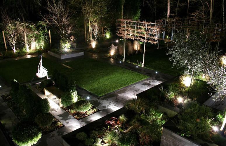 Modern Outdoor Garden Lighting Design Ideas
